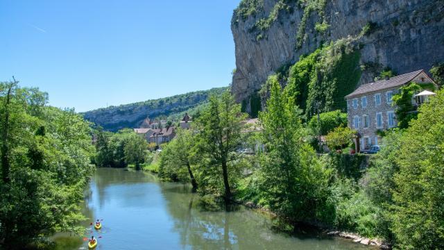 Canoë en vallée du Célé