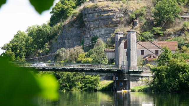 Pont de Cajarc à Salvagnac-Cajarc