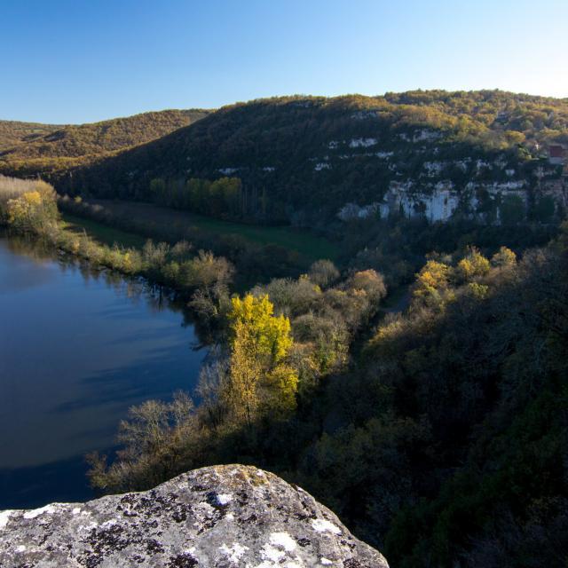 Un automne en vallée du Lot à Calvignac