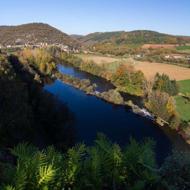 Vallée du Lot à Calvignac