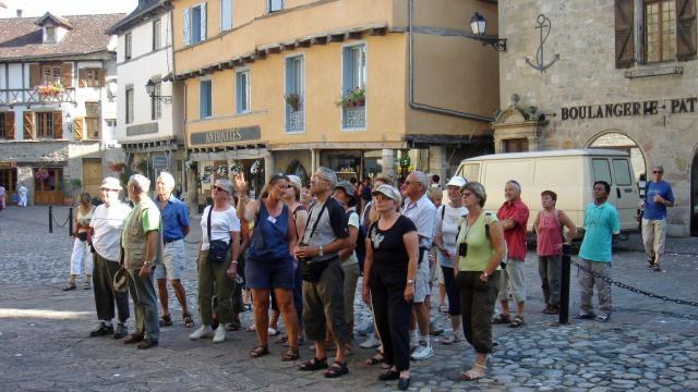 visite guidée de Beaulieu sur Dordogne