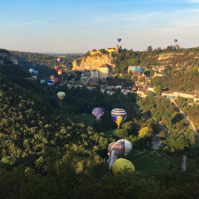 Rocamadour - Montgolfiades 2017
